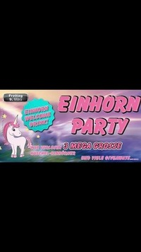 Einhorn Party@Partymaus