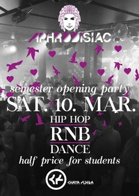 Aphrodisiac - Semester Opening Party at Chaya Fuera@LVL7