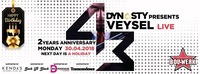 Veysel LIVE // 2nd Anniversary of Dynasty at Bollwerk@Bollwerk