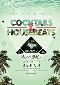 Cocktails & Housebeats@Club Diamond