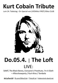 Kurt Cobain Tribute zum 24. Todestag@The Loft