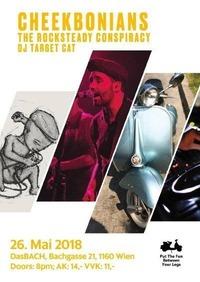 Cheekbonians/CH & The Rocksteady Conspiracy/A & DJ Target Cat/A@dasBACH