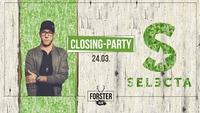 Closing - Party mit DJ Selecta