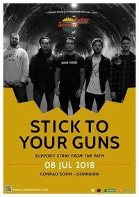 Stick To Your Guns + Support • 7. Kultursommer-Festival@Conrad Sohm