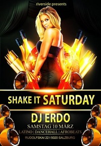 # # Shake it Saturday # #@Riverside