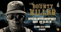 Official Bounty Killer After Show Party at Roxy@Roxy Club