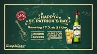 St. Patrick's Day mit Jameson Whiskey
