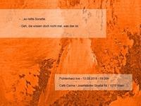 Fichtenharz live / Café Carina@Café Carina