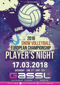 Snow Volleyball Player´s Night@Gassl