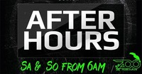Saturday Afterhour@The ZOO Music:Culture