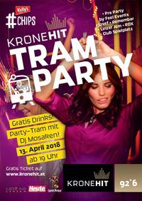 Die KRONEHIT Tram Party@Taubenmarkt