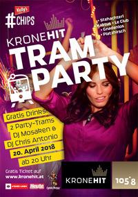Die KRONEHIT Tram Party@Schwedenplatz