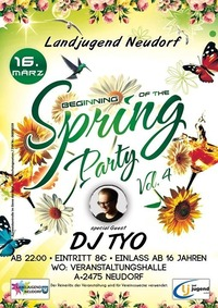 Beginning of the Spring Party@Halle Neudorf