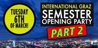 GRAZ International Students Semester Opening Party - Part 2@Fledermaus Graz