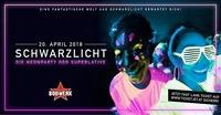 SCHWARZLICHT • 20.04.18 • XXL Special@Bollwerk