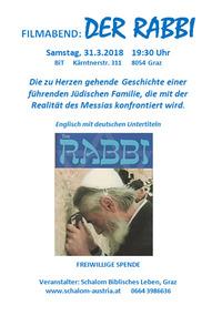 Filmabend: DER RABBI@bit schulungscenter