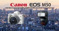 Präsentation Canon EOS M50 & Speedlite 470Ex-Ai Blitz@pin Kücher, Digitale Welt