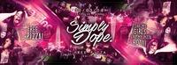 SIMPLY DOPE / PIZZA N' HIP HOP / 30.03. / CITY CLUB VIENNA@Club Nautica