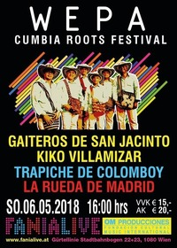 WEPA // Cumbia Roots Festival /06.05.2018@Fania Live