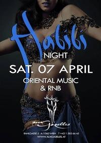 Habibi Night // 07 April // Aux Gazelles@Aux Gazelles