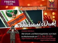 Jägermeister Party@Maurer´s