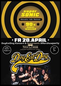 Supersonic - 90s Most Wanted (Dog Eat Dog Aftershowparty)