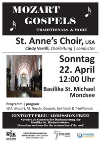 Mozart, Gospels, Traditionals & more@Basilika St. Michael