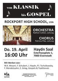 von KLASSIK bis GOSPEL@Haydn Saal