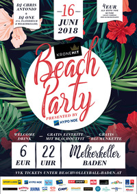 KRONEHIT BEACH PARTY presented by HYPO NOE
