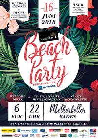 KRONEHIT BEACH PARTY presented by HYPO NOE@Melkerkeller Baden