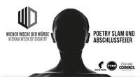 Wiener Woche der Würde Poetry Slam & Abschlussfeier@Café Luftschloss Cobenzl
