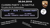 Closing Party | DJ Battle@Manglburg Alm