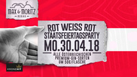 ROT WEISS ROT - Staatsfeiertagsparty@Max & Moritz