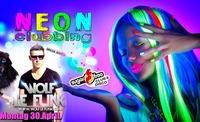 Neon-Clubbing mit Dj Wolf le funk@Sugarfree