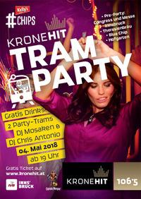 Die KRONEHIT Tram Party@Congress und Messe Innsbruck