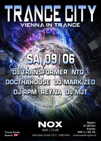 Trance City - Vienna in Trance | * 7 DJs *