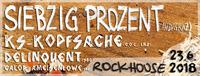 Siebzig Prozent & KS Kopfsache@Rockhouse-Bar