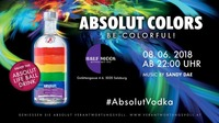Be Colorful: Absolut Colors Release@Half Moon