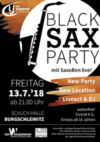 Black Sax Party @Schuch Halle