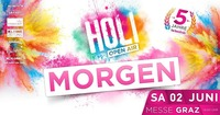 HOLI Festival der Farben@Grazer Congress