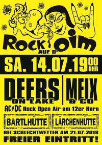 Rock auf D´ Oim@Bartlhütte