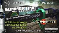 SUMMERTIME mit DJ Martinez@Discothek Concorde