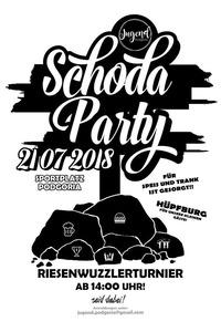 3. Schodaparty und Riesenwuzzlerturnier@Sportplatz Oberpodgoria