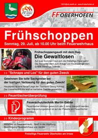 Frühschoppen der FF Oberhofen