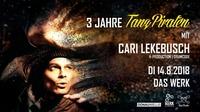 3 Jahre TanzPiraten mit Cari Lekebusch@DasWerk Wien