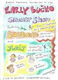 Early Bučko - Summer Show@Volxhaus - Klagenfurt