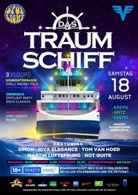 Das Traumschiff - Party Boat Wachau@MS Stadt Wien / Schiffstation Krems-Stein