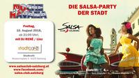 NOCHE HAVANA - 10.08.2018- die Salsa Party der Stadt - SALSA CLUB SALZBURG@Stadtcafe Salzburg