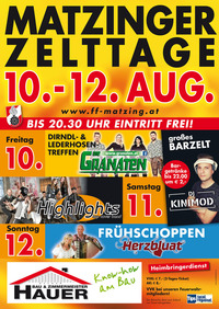 Matzinger Zelttage@Matzing
