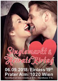 TRAU DI ANBANDELN bei Österreichs 1. Singlemarkt & Heiratskirtag in der Prateralm@Prateralm